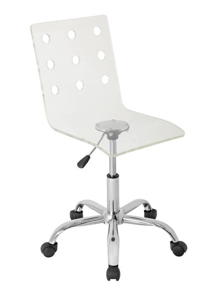 Lumisource Swiss Clear Office Chair LUMI-OFC-TW-SWISS-CL