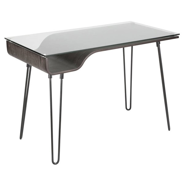 Lumisource Avery Dark Grey Desk LUMI-OFD-AVRY-DGY