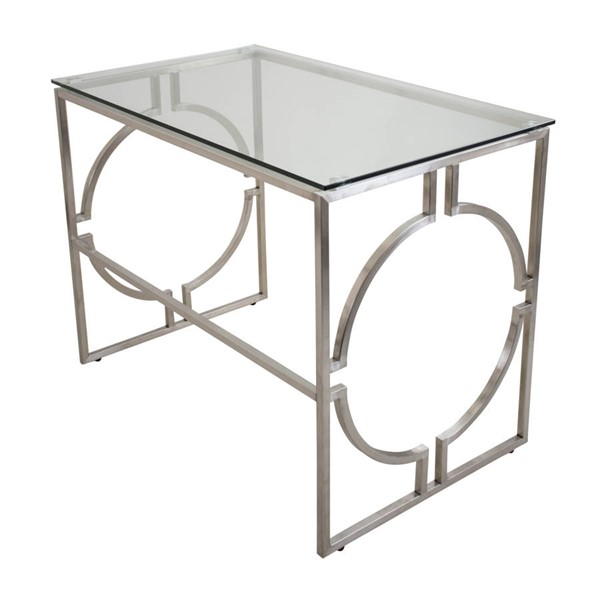 Lumisource Dynasty Clear Desk LUMI-OFD-DNSTY-CL