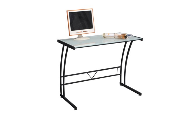 Lumisource Sigma Black Metal Glass Desks LUMI-OFD-TM-BITSGL-VAR