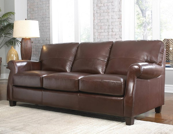 Lazzaro Carlyle Coffee Bean Sofa The Classy Home