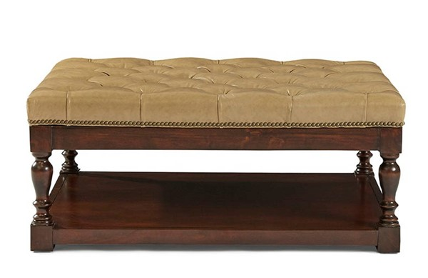 Lazzaro Emmy Buckskin Tufted Cocktail Table LZRO-351-41-3336