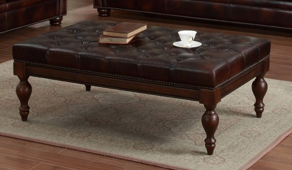Lazzaro Emmy Buckeye Tufted Cocktail Table LZRO-351-41-9011B