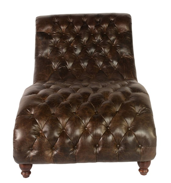 Lazzaro Cathay Brompton Chocolate Chaise and Half LZRO-3988-13-9010A