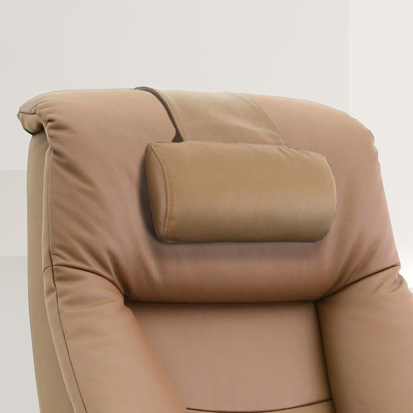 Mac Motion Relax-R Cervical Sand Tan Leather Pillow MAC-PL024