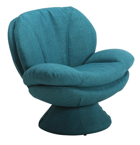 Mac Motion Relax-R Port Turquoise Blue Fabric Leisure Accent Chair MAC-PORT300150UPH