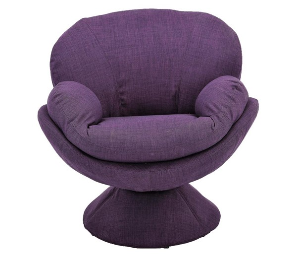 Mac Motion Relax-R Port Purple Fabric Leisure Accent Chair MAC-PORT300170UPH