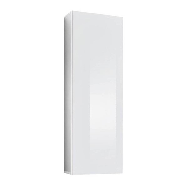 Meble Furniture Fly Type 20 White Wall Mounted Floating Bookcase Cabinet MBL-FLY20WHITE