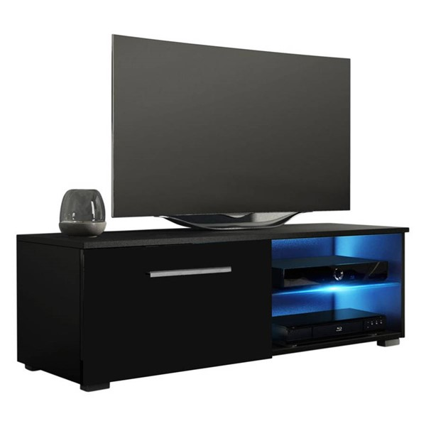 Meble Furniture Moon Black 41 Inch TV Stand MBL-MOON40BLACK
