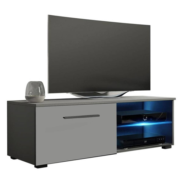 Meble Furniture Moon Gray 41 Inch TV Stand MBL-MOON40GRAY