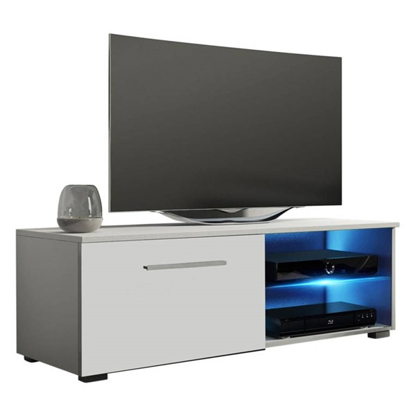 Meble Furniture Moon White 41 Inch TV Stand MBL-MOON40WHITE