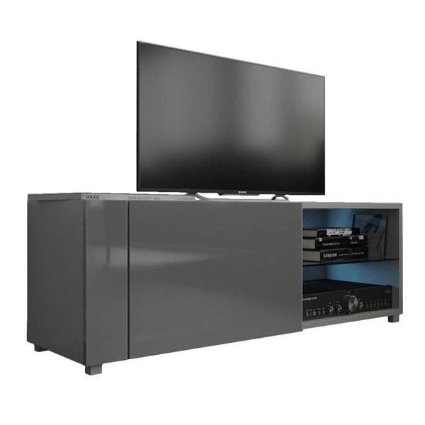Meble Furniture New Best Gray Wall Mounted Floating 39 Inch TV Stand MBL-NEWBEST1XGRAY
