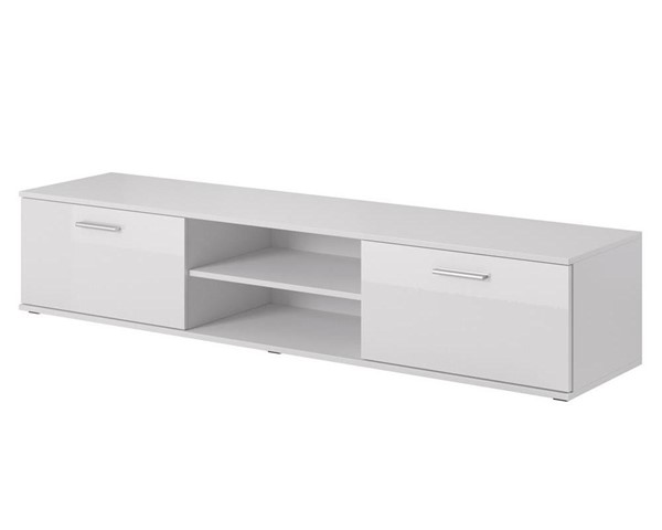 Meble Furniture Soho S3 180 White 71 Inch TV Stand MBL-SOHOS3WHITE
