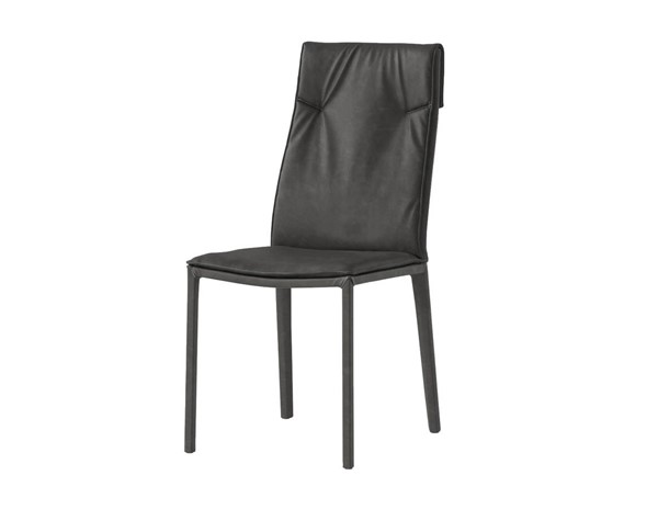 2 Mobital Harris Faux Leather Dining Chairs MBT-DCHHARR-DR-CH-VAR