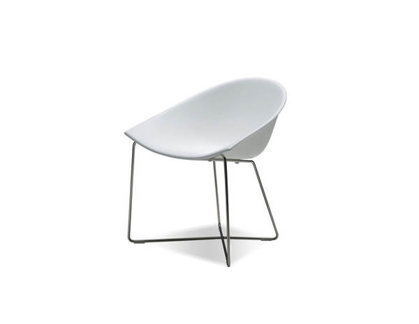 2 Mobital Paraiso White Solid Surface Dining Chairs MBT-DCHPARAWHIT