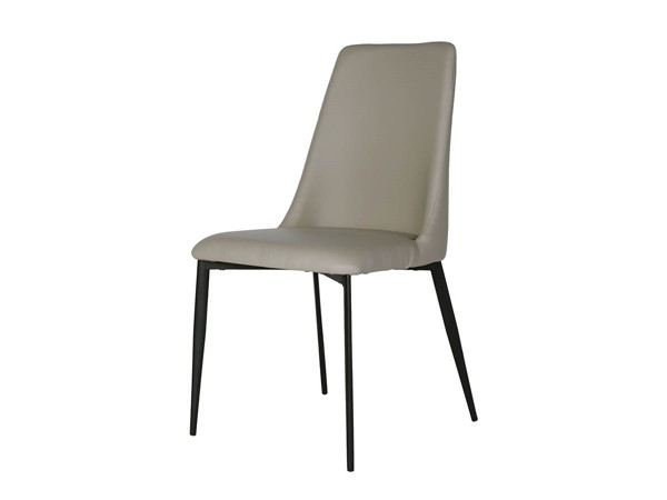 2 Mobital Seville Faux Leather Dining Chairs MBT-DCHSEVI-DR-CH-VAR