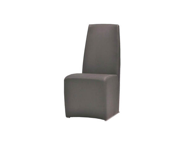 2 Mobital Tao Grey Faux Leather Dining Chairs MBT-DCHTAO9GREY