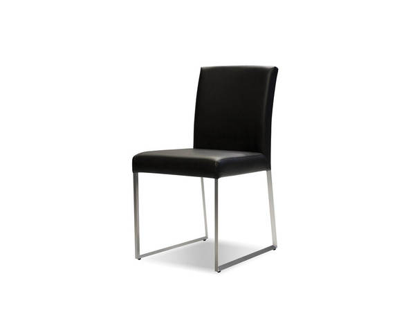 2 Mobital Tate Faux Leather Dining Chairs MBT-DCHTATE-DR-CH-VAR