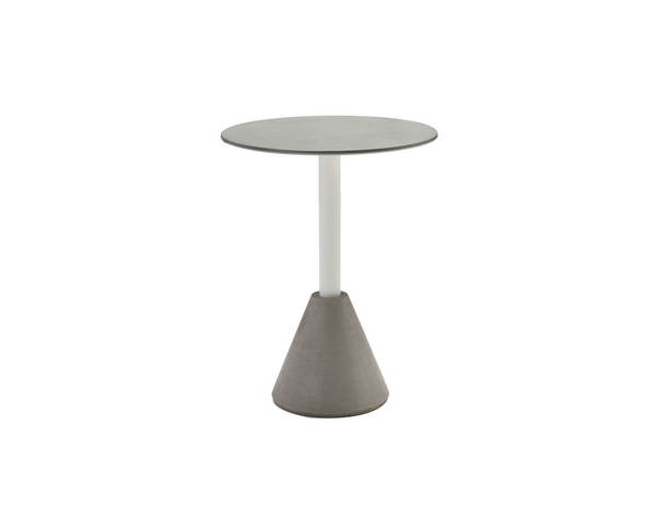 Mobital Cayo Grey Concrete Round Dining Table MBT-DTACAYOGREY