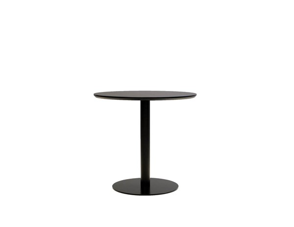 Mobital Half Pint Black Round Dining Table MBT-DTAHPINBLACROUND