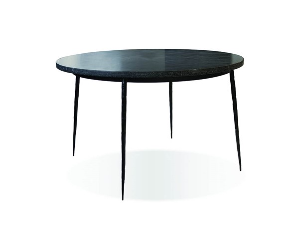 Mobital Kaii Black Marble Round Dining Table MBT-DTAKAIIBLAC49IN