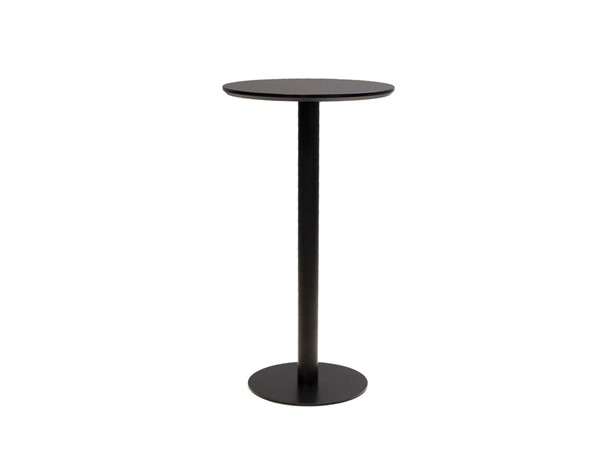 Mobital Half Pint Black MDF Round Bar Table MBT-DTBHPINBLACROUND