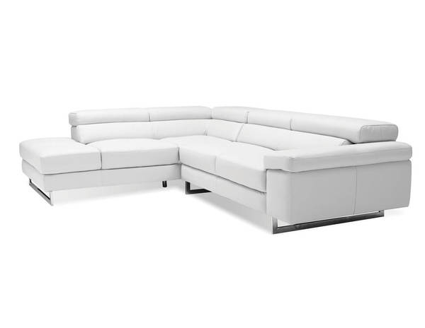 Mobital Syncro Grain Leather Sectionals with LSF Chaise MBT-SERSYNC-SEC-VAR2