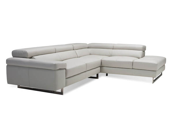 Mobital Syncro Grain Leather Sectionals with RSF Chaise MBT-SERSYNC-SEC-VAR1