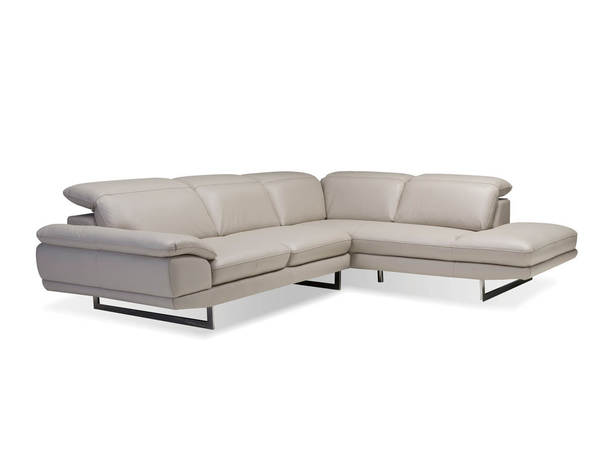 Mobital Uptown Grain Leather Sectionals with RSF Chaise MBT-SERUPTO-SEC-VAR1