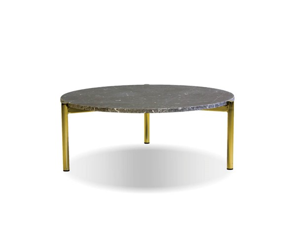 Mobital Atlas Black Gold Large 31 Inch Coffee Table MBT-WCOATLABLAC31IN