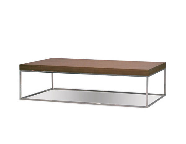 Mobital Kubo Natural Walnut Rectangle Coffee Table MBT-WCOKUBOWALNLONG