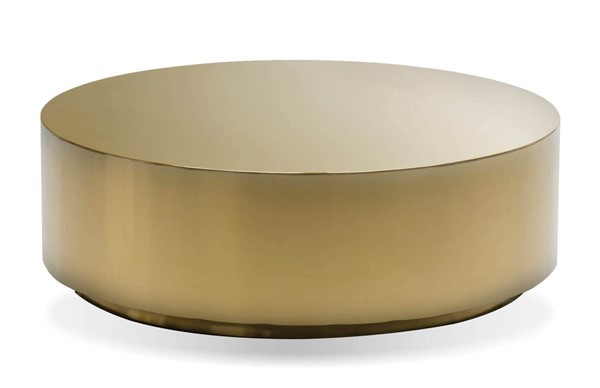 Mobital Sphere Gold Stainless Steel Coffee Table MBT-WCOSPHEGOLDROUND