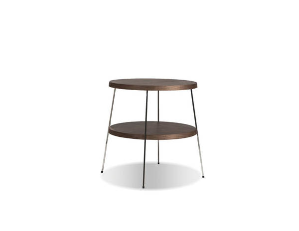 Mobital Double Decker Walnut Small End Table MBT-WENDODEWALNSMALL