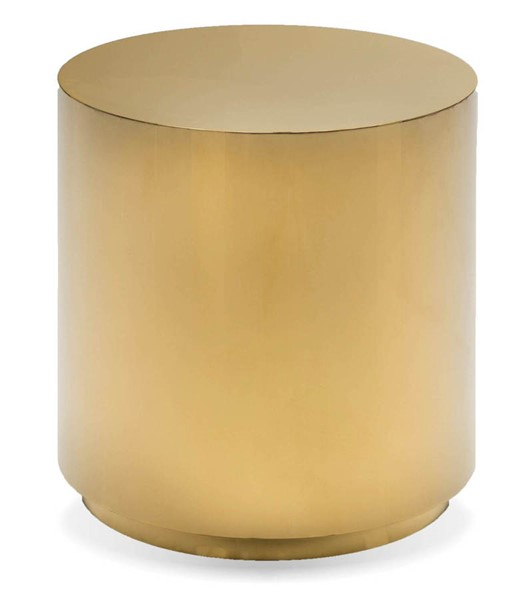 Mobital Sphere Gold Stainless Steel End Table MBT-WENSPHEGOLDROUND