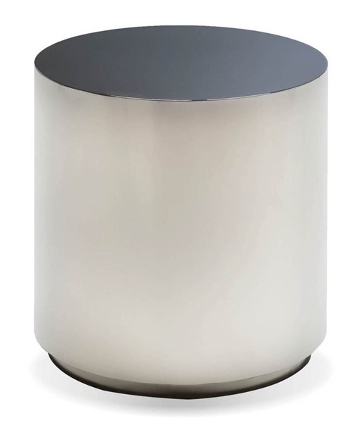 Mobital Sphere Black Stainless Steel End Table MBT-WENSPHESTEEBLACK