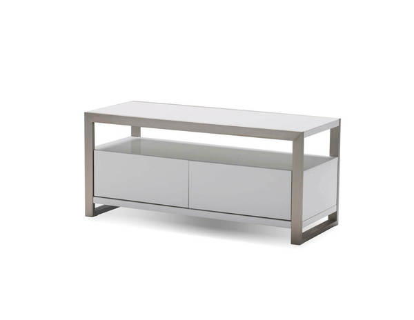Mobital Brando Gloss White Wood 39 Inch TV Unit MBT-WTVBRANWHIT39IN