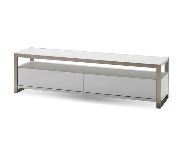 Mobital Brando Gloss White Wood 63 Inch TV Unit MBT-WTVBRANWHIT63IN