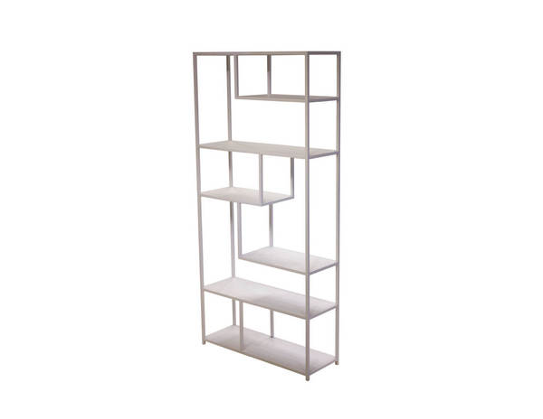 Mobital Booker White Powder Coated Bookshelf MBT-WWUBOOKWHIT