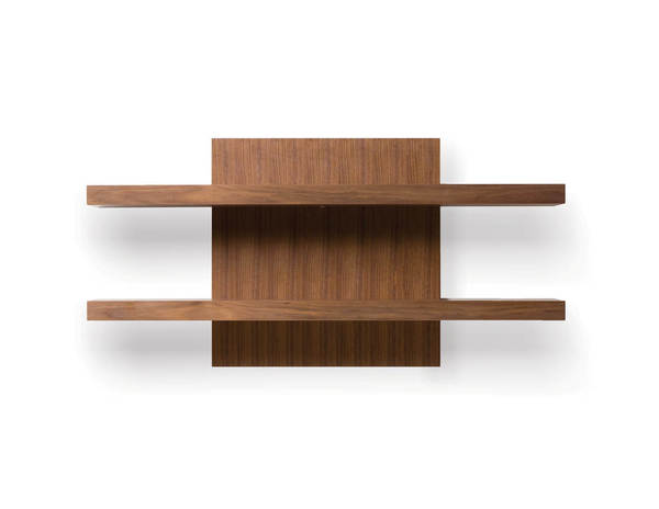 Mobital Cargo Natural Walnut Wall Shelf Unit MBT-WWUCARGWALNSHELF