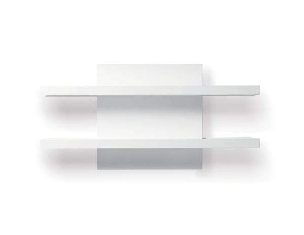Mobital Cargo High Gloss White Wall Shelf Unit MBT-WWUCARGWHITSHELF