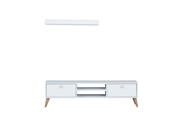 Modarte Vega Wood TV Unit With Drawers MDRT-VE03-TV-STN-VAR