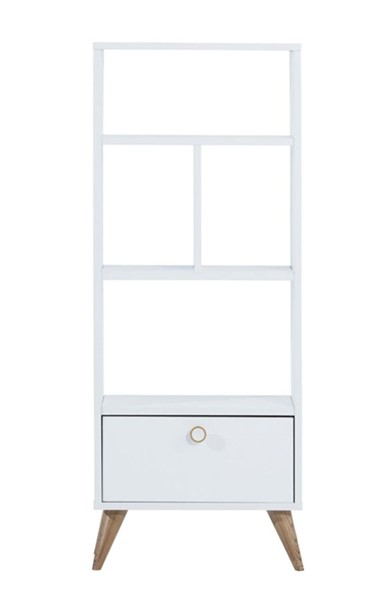 Modarte Vega White Wood Wall Unit And Bookcase MDRT-VE19-101
