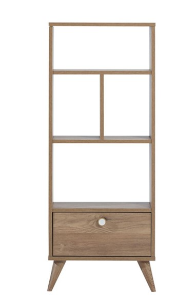 Modarte Vega Oak Wall Unit and Bookcase MDRT-VE19-110