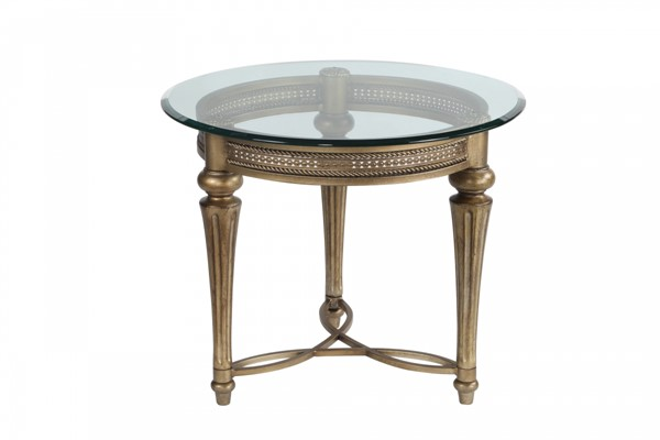 Magnussen Home Galloway Round End Table MG-37504