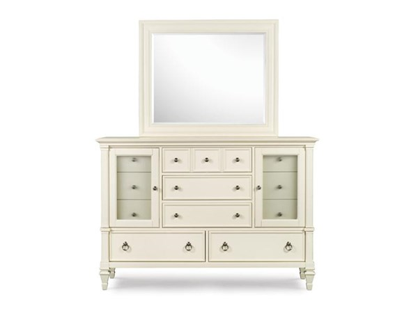 Ashby Casual Patina White Wood MDF Dresser MG-71925