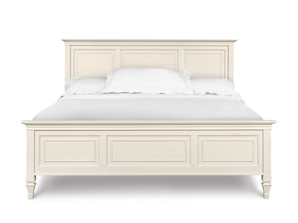 Ashby Cottage Patina White Wood MDF Queen Footboard MG-71960QFB