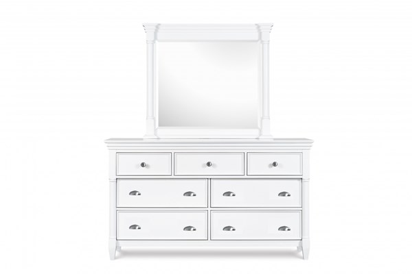 Kasey Casual White MDF Wood Drawer Dresser MG-B2026-20