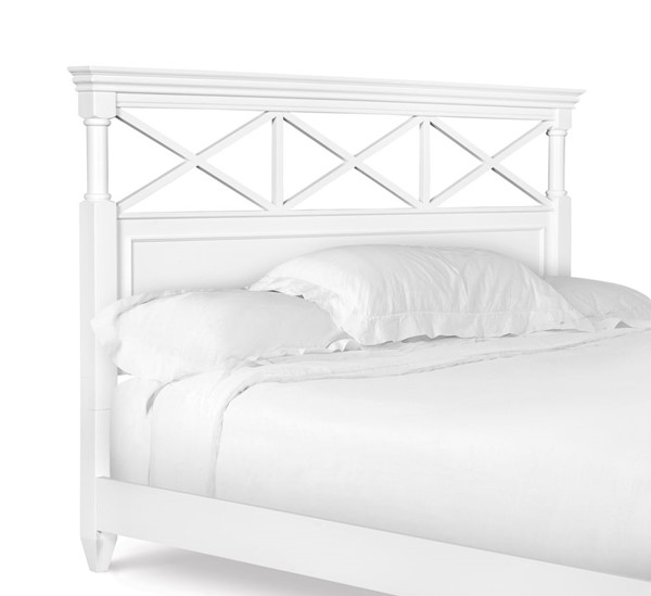 Magnussen Home Kasey White Queen Panel Headboard The
