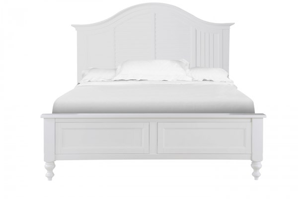 Cape Maye Cottage Pristine White Wood Beds MG-B2819-CBEDS