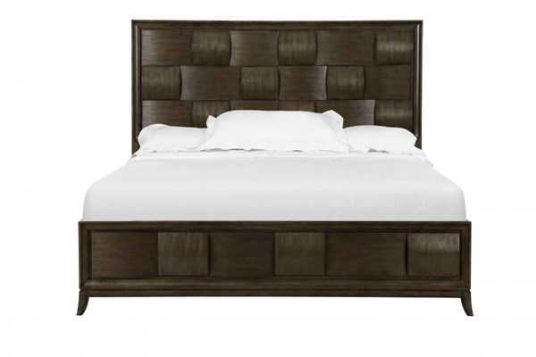 Ribbons Modern Coffee Wood King Island Bed Footboard MG-B3032-60F